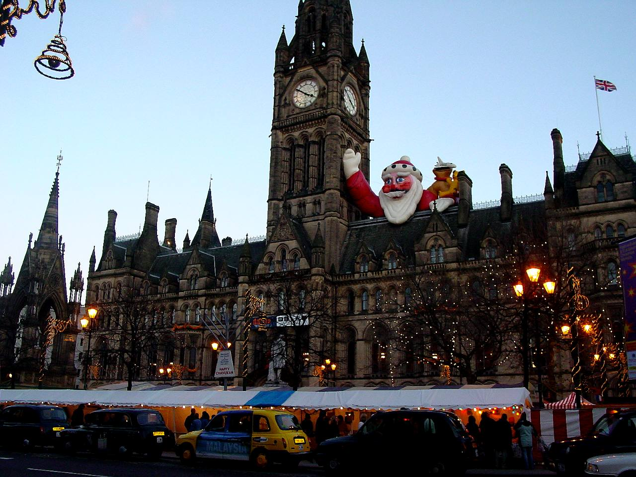 Manchester christmas